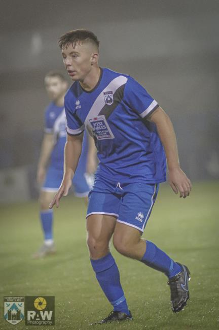 Teenager Iori Humphreys came on for his Haverfordwest County debut