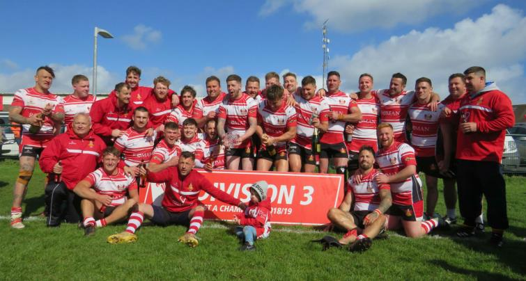 2019 Division 3 West A Champions Milford Haven