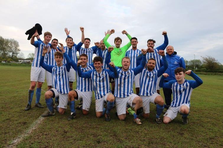 Kilgetty AFC champions