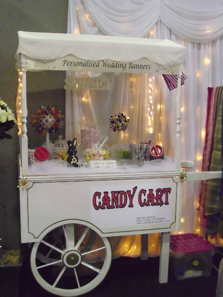 Cart at Pembrokeshire Wedding Fayre